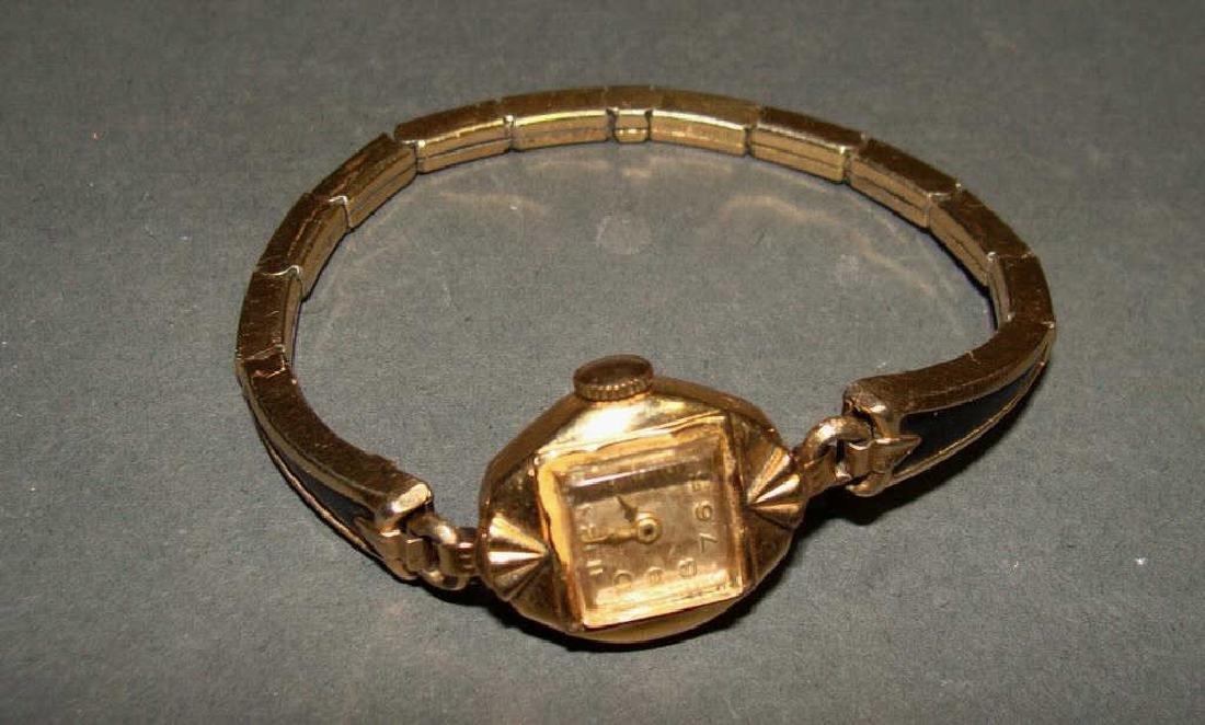 14kt Gold Ladies Watch