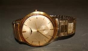 18kt Gold Men's Longines Wristwatch