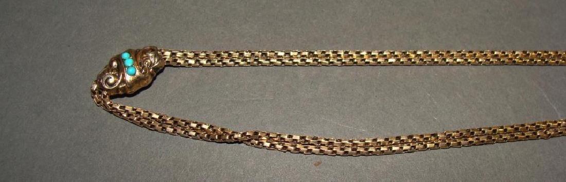 10kt Gold Victorian Watch Fob