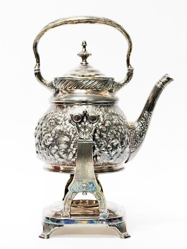 17: Reed and Barton Silver plate Tea Coffee Pot
