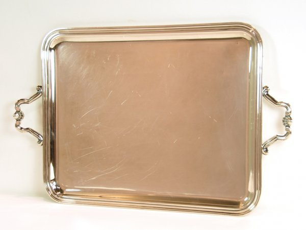 18: Christofle Silverplated Tray