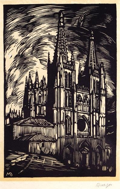4: MANUEL BENET (1946- ) 10 PCS a) The Convent Signed