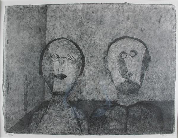 12: RUFINO TAMAYO (1899-1991) La Pareja Lithograph