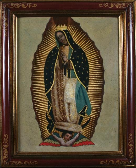 22: SPANISH COLONIAL Our Lady of Guadalupe