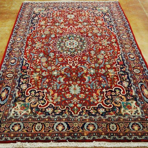 3: Persian Bidjar Rug Width 5 ft; length 8 ft 7 in