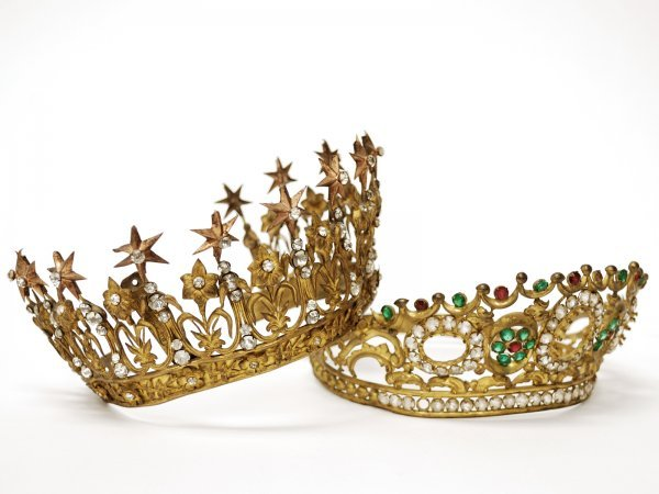 11: Pair of French Decorative Tiaras