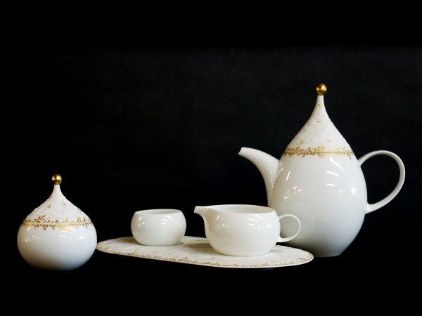 15: Five Piece Magic Flute Rosenthal Tea Set