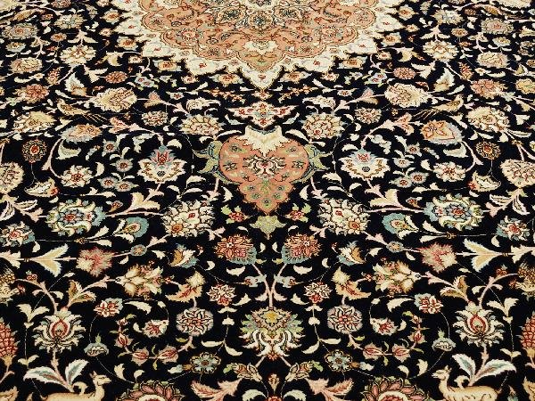 7: Tabriz Carpet Northwest Persia Circa 1980 New