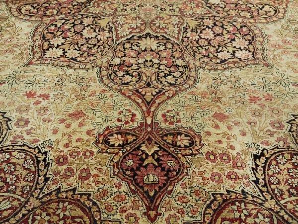 8: Antique Persian Kerman Carpet Southeast Persia Circa