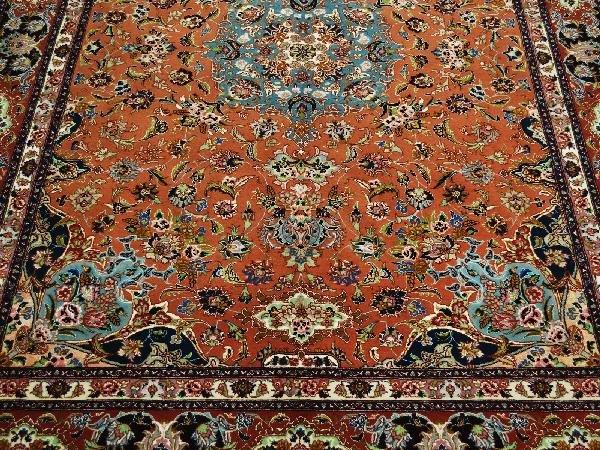 9: Tabriz Carpet Northwest Persia Circa 1980 New
