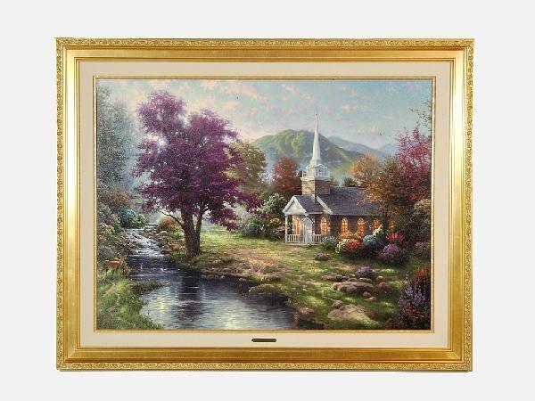 4: Thomas Kinkade 1958 Streams of Living Water, Chapels