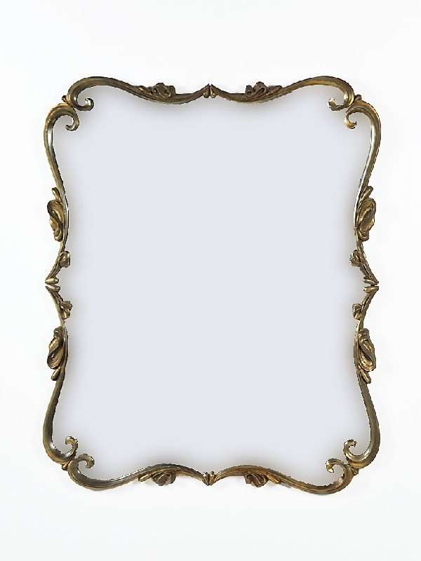 12: Decorative Wall Mirror Height: 45 in; width 37 in;