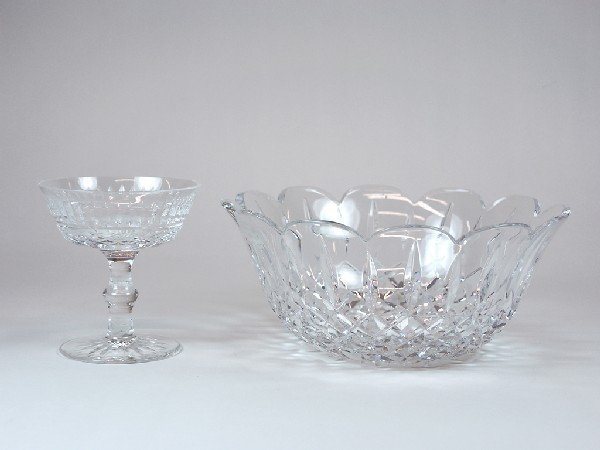 7: Mixed Lot including Waterford Crystal Bowl and Cryst