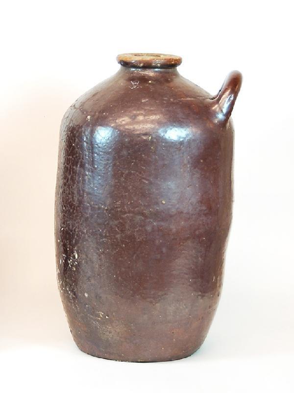 20: Large Olive Oil Jar Height 22 in; width 13 in; dept