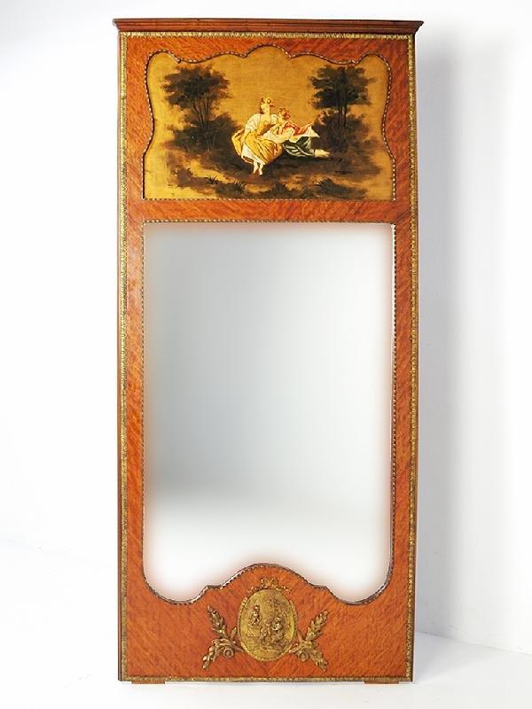 57: Trumeau Mirror Height 87 in; width 40; depth 1.5 in