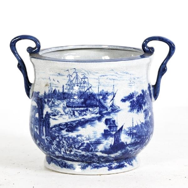 10: Reproduction Victoria Ware Ironstone Container with