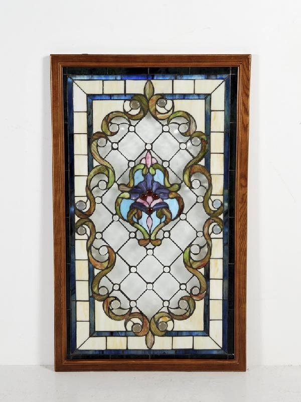 15C: Stained Glass Window