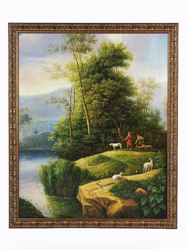 44: P. Donati, In the Style of 18th Century European Sc