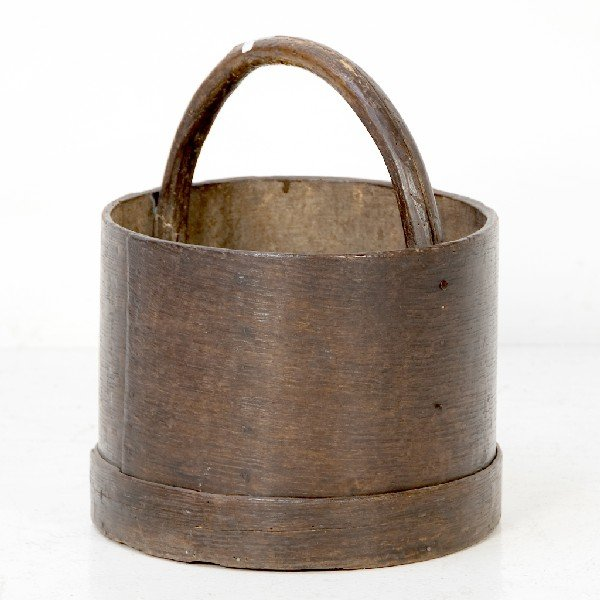 2: Country French Wooden Bucket