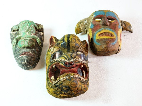 4: Mexican Tribal Dance Masks