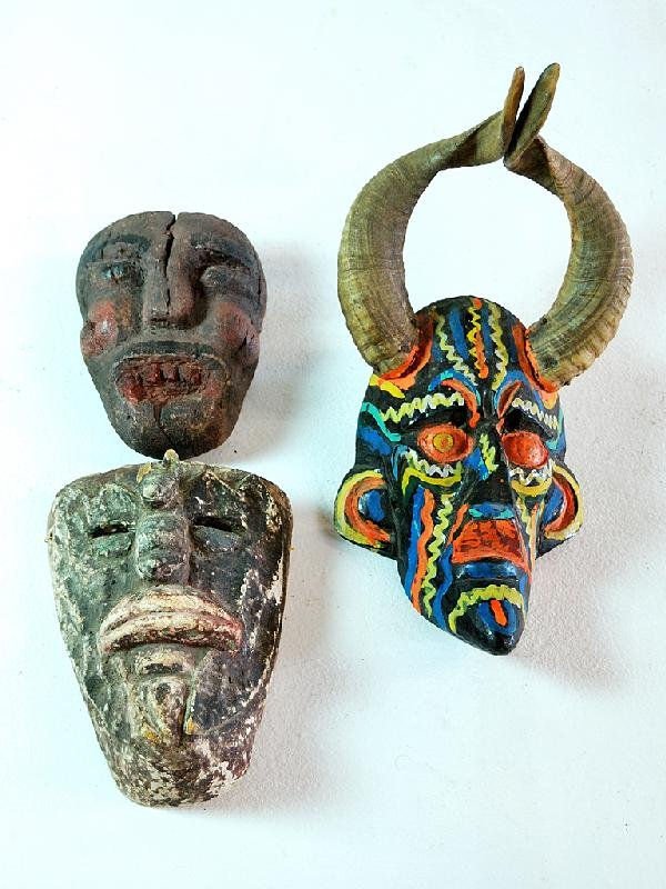 6: Mexican Tribal Dance Masks