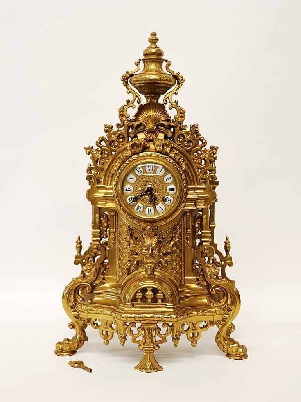 14: Italian Rococo Style Clock