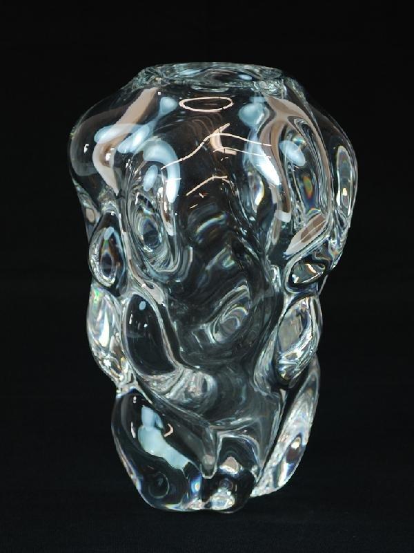 12: Orrefors Crystal Vase