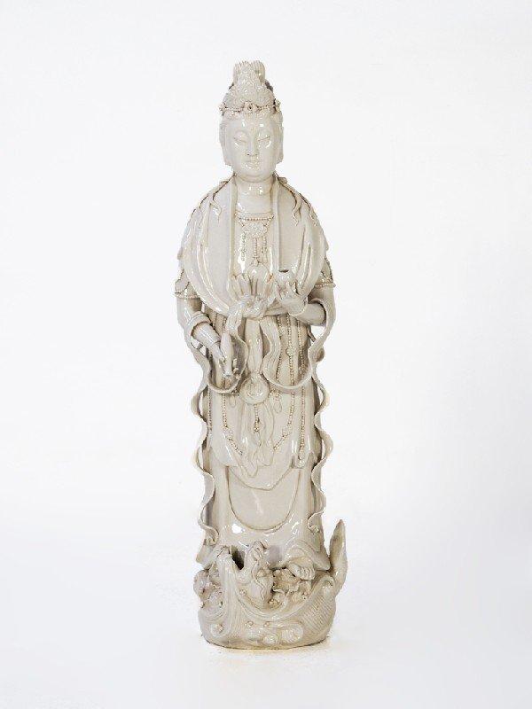 24: Decorative Porcelain Buddhist Figure