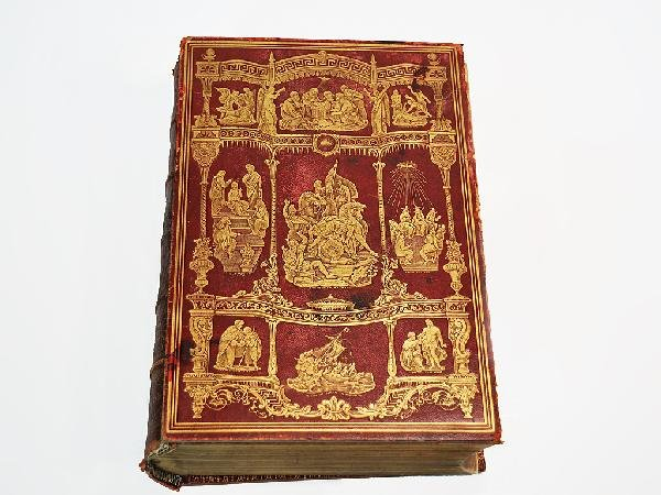 3: THE ANTIQUE ILLUMINATED HOLY BIBLE Harper & Brothers