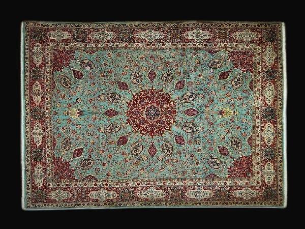 8: Tabriz Carpet Northwest Persia Circa 1960 New