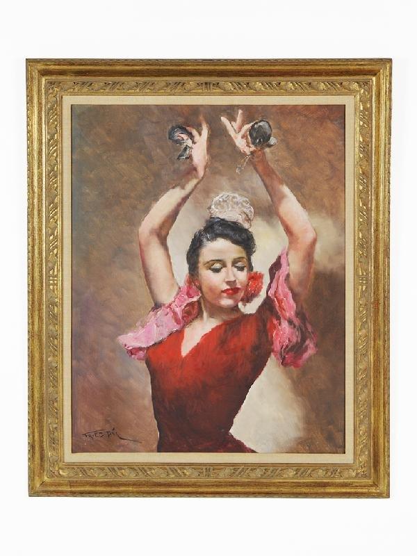15: PAL FRIED, (Hungarian-American, 1893-1976), Spanish