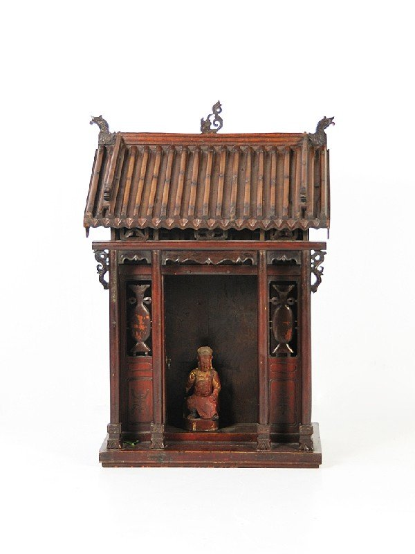 19: AN ASIAN TEMPLE STRUCTURE Nineteenth Century