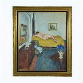 56: ALBERT LEMAITRE, (Belgium, 1886-1975), Reclining Nu