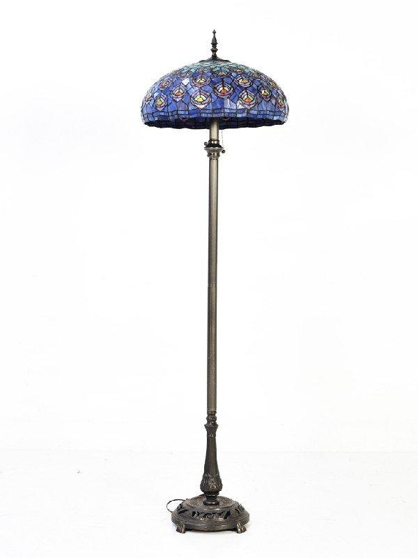 20: Tiffany Style Floor Lamp