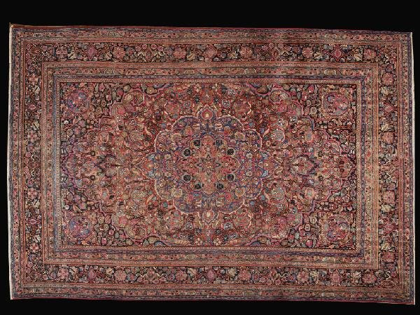 4: A PERSIAN MOUD CARPET