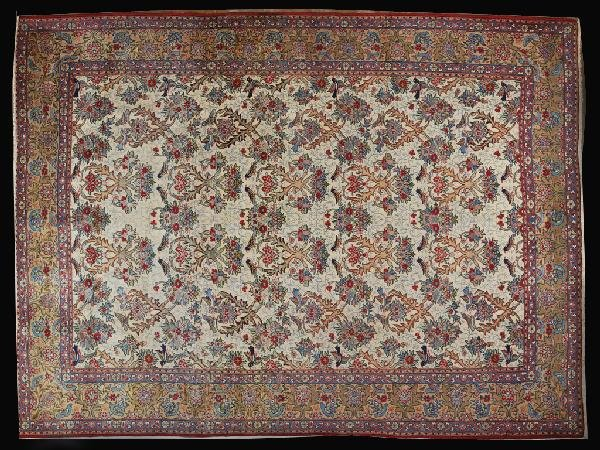 5: A PERSIAN TABRIZ CARPET