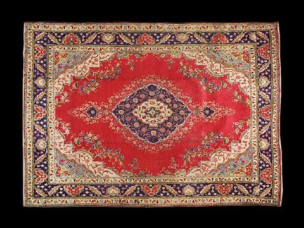 6: A TABRIZ CARPET NORTHWEST PERSIA CIRCA 1990