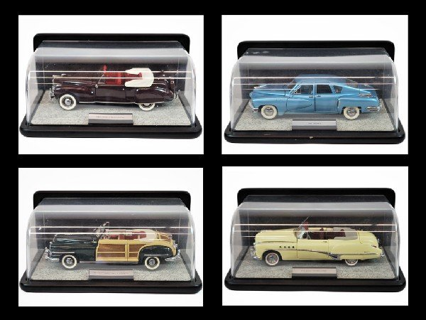 15: A COLLECTION OF VINTAGE MODEL CARS