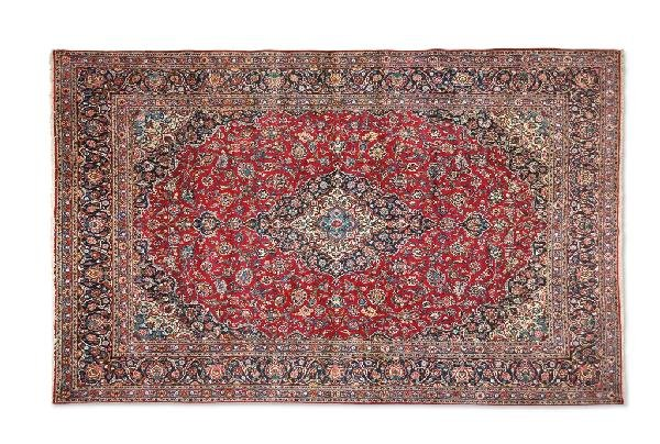 13: A KASHAN CARPET, Central Persia, Circa 1920, 225 KP