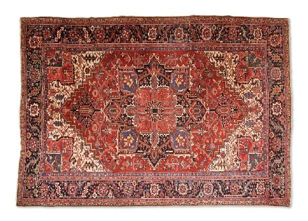 17: A HERIZ CARPET, Northwest Persia, Circa Early Twent