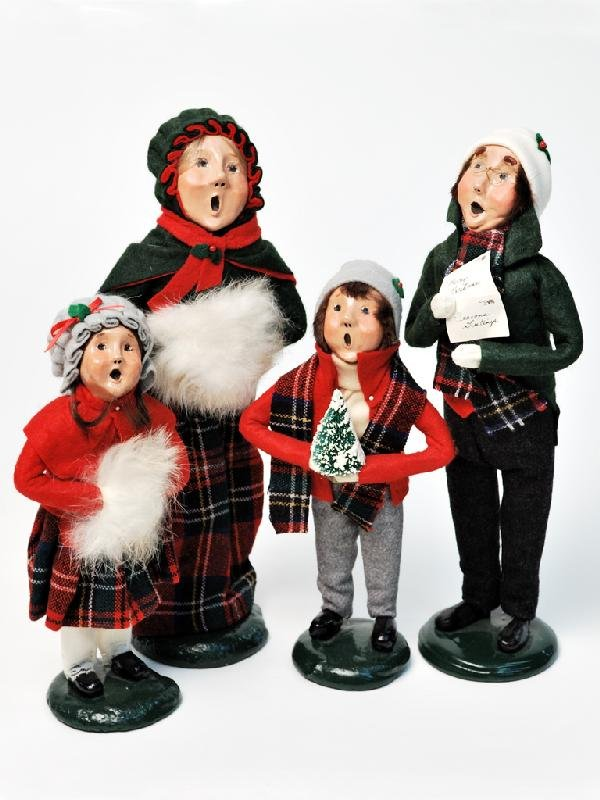 """14: A BUYERS CHOICE, A GROUP OF FOUR """"THE CAROLERS"""""""