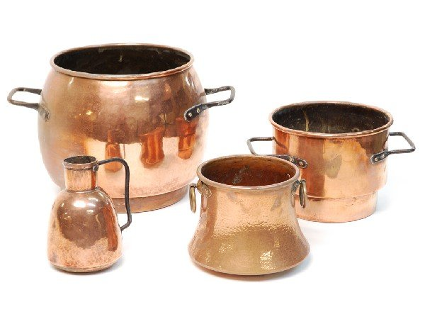 20: A GROUP OF FOUR FRENCH COPPER PIECES