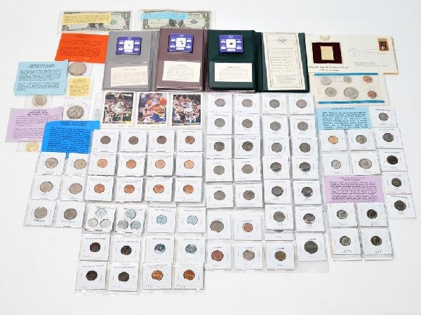 15: LOT OF MISCELLANEOUS COINS