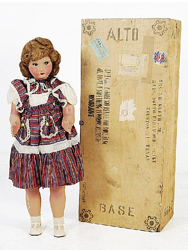 16: A VINTAGE DOLL Provenance: Italy