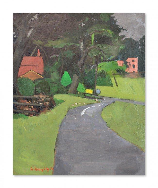 5: TREVOR WILLERBY, R.A., (British, b.1926), Landscape,