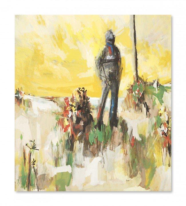 12: WEYRICH, (Twentieth Century), Man In A Field, Mixed