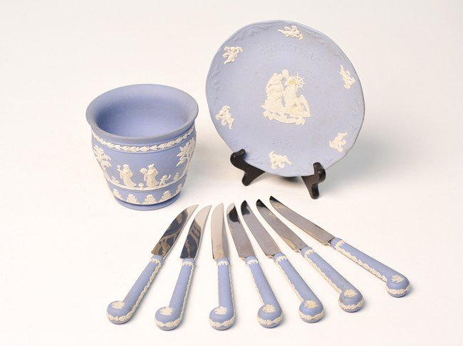 """1: A WEDGWOOD """"BLUE"""" COLLECTION"""