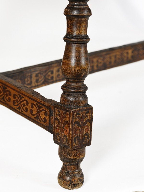 14: A MARQUETRY WORK TABLE Oaxaca, Mexico, Eighteenth C - 7