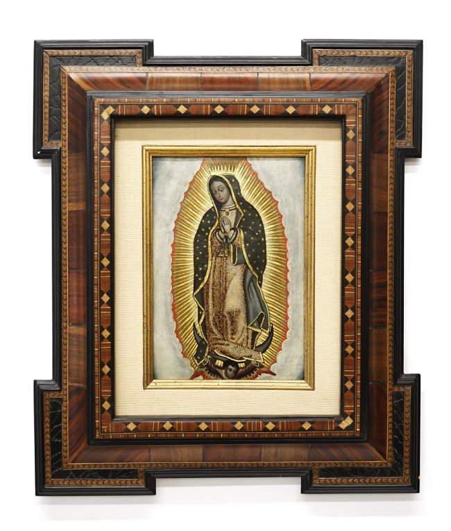 19: ANONYMOUS SCHOOL, (Eighteenth Century), Virgin of G
