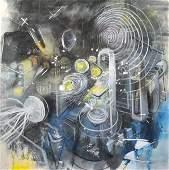 51: ROBERTO MATTA, (Chilean, 1912-2002), Untitled, 1971